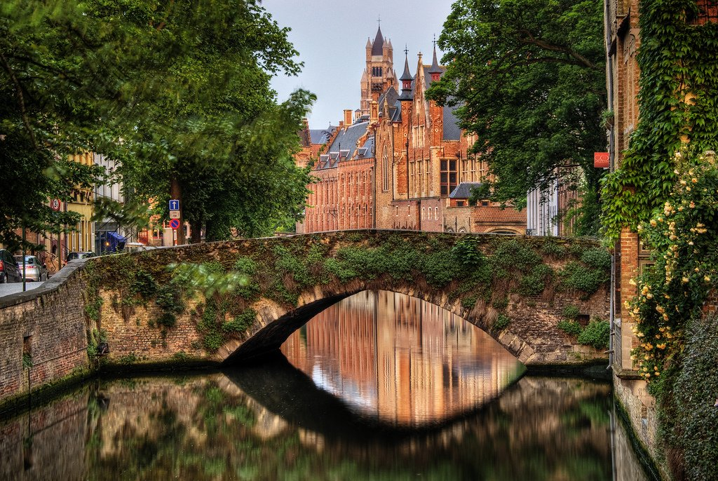 страны архитектура река Бельгия Брюгге  № 1730907 загрузить