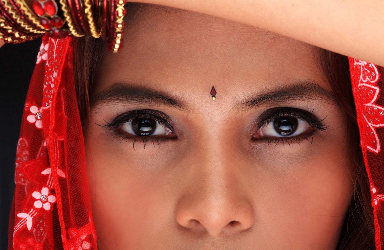 Фото индийских девушек крупным планом 19 фотография